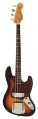 Fender Custom Shop 1960 Relic Jazz Bass Sunburst
