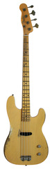 Pre-Owned Fender Custom Shop Dusty Hill Signature Precision Bass Nocaster Blonde