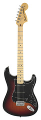 Fender Limited Edition 70s Hardtail Stratocaster 3 Tone Sunburst
