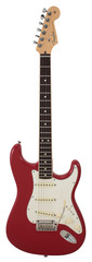 Fender Limited Edition American Standard Stratocaster Channel Bound Dakota Red