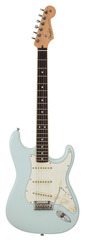 Fender Limited Edition American Standard Stratocaster Channel Bound Sonic Blue