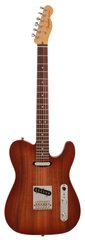 Fender American Select Telecaster Carved Koa Top Sienna Edge Burst