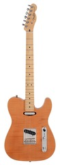 Fender Select 2012 Telecaster Carved Maple Top Amber