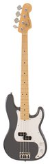 Fender American Standard Precison Bass Charcoal Frost