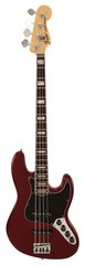 Fender American Deluxe Jazz Bass Ash Wine Transparent