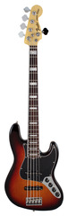 Fender American Deluxe Jazz V Bass 3-Color Sunburst