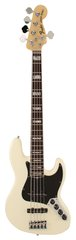 Fender American Deluxe Jazz V Bass Olympic White