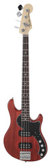 Fender American Deluxe Dimension IV HH Bass Cayenne Burst