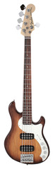 Fender American Deluxe Dimension V HH Bass Violin Burst