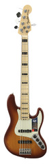 Fender American Elite Jazz Bass V Ash Tobacco Burst