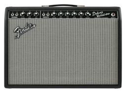 Fender 65 Deluxe Reverb Amplifier with Footswitch