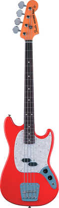 Fender Mustang Bass Fiesta Red