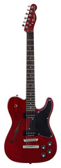Fender JA-90 Telecaster Crimson Transparent