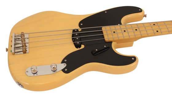 fender squier classic vibe 50s precision electric bass guitar butterscotch blonde rainbow guitars. Black Bedroom Furniture Sets. Home Design Ideas