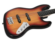 Fender Squier Vintage Modified Fretless Jazz Bass 3-Tone Sunburst