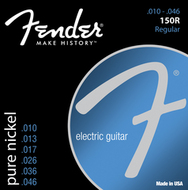 Fender 150R Pure Nickel <BR>Ball End Electric Guitar Strings <BR>10-46