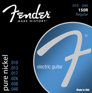 Fender 150R Pure Nickel  Ball End Electric Guitar Strings <BR>10-46
