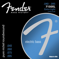 Fender 7150XL Pure Nickel <BR>Bass Guitar Strings<BR>40-95 