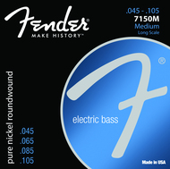 Fender Fender 7150MPure Nickel <BR>Bass Guiutar Strings 45-105