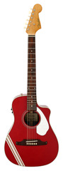Fender Malibu CE Mustang Acoustic Electric Candy Apple Red