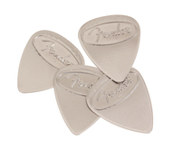 Fender Stainless Steel Pick 4 Pack Medium