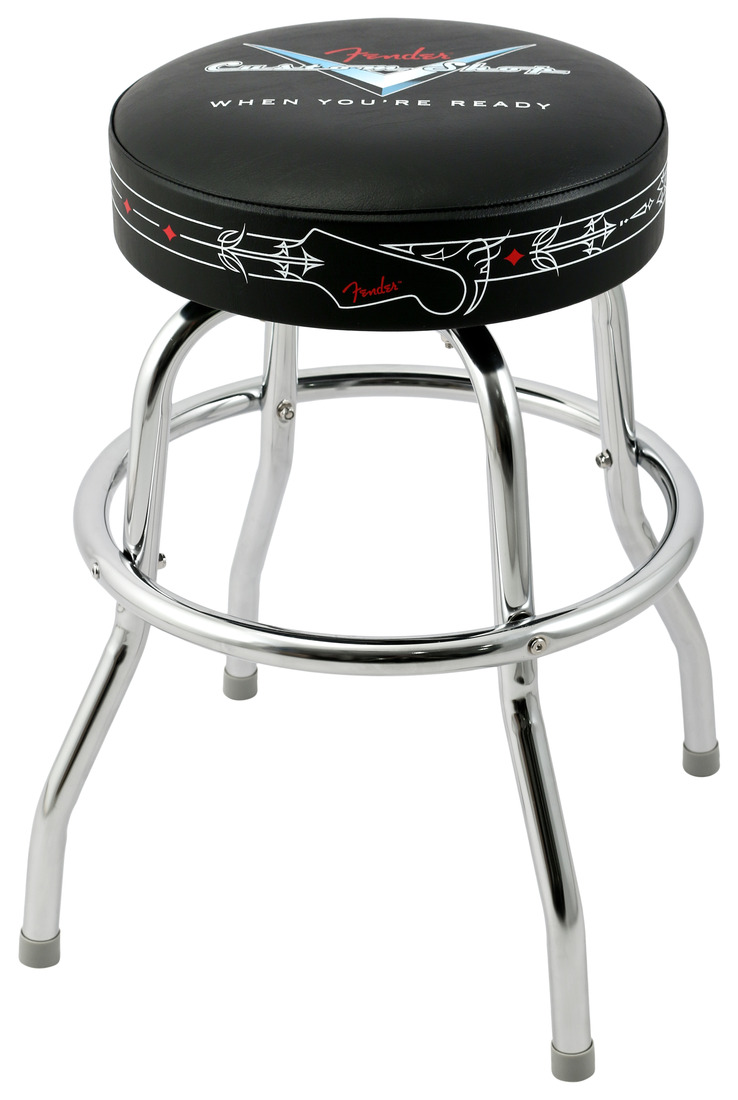 Fender Custom Shop Pinstripe Barstool 24 Quot Rainbow Guitars