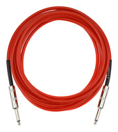 Fender California Series Guitar Cable 15 Foot Candy Apple Red