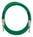 Fender California Series Cable 15 Foot  Surf Green
