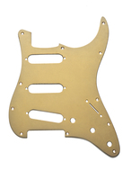 Fender Pickguard, Stratocaster, Gold Anodized