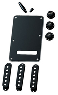Fender Strat Accessory Kit<BR>Black