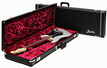 Fender Black Tolex Guitar Case<BR>w/Plush Magenta Interior 