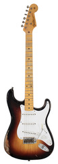 Fender Custom Shop 60th Anniv 1954 Heavy Relic Strat 2 Tone Sunburst