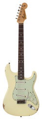 Fender Custom Shop L Series 1964 Stratocaster Relic Aged Vintage White