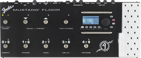 Fender Mustang Floor Guitar Multi Effects Pedal