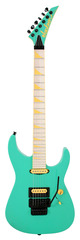 Jackson Custom Shop SLHS Soloist Custom Seafoam Green and Yellow
