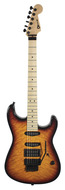 Charvel Custom Shop San Dimas Quilt Top Tobacco Sunburst