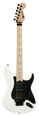 Pre-Owned Charvel Custom Shop SoCal HSS Snowblind Satin White Full Bodied Neck