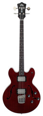 Guild Starfire II GSR Electric Bass Dark Cherry