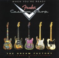Fender Custom Shop 2013 Calendar