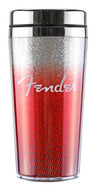 Fender Glitterburst Travel Mug Red