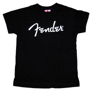 Fender Spaghetti Logo T-Shirt Black XX Large