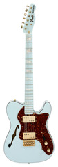 Fender Custom Shop 72 Telecaster Thinline Sonic Blue Masterbuilt
