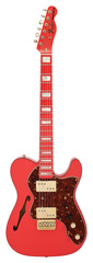 Fender Custom Shop 72 Telecaster Thinline Fiesta Red Masterbuilt