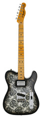 Fender Custom Shop 1968 Black Paisley Telecaster Master Built Jason Smith
