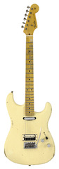 Fender Custom Shop Limited H/S Stratocaster Relic Aged Vintage White