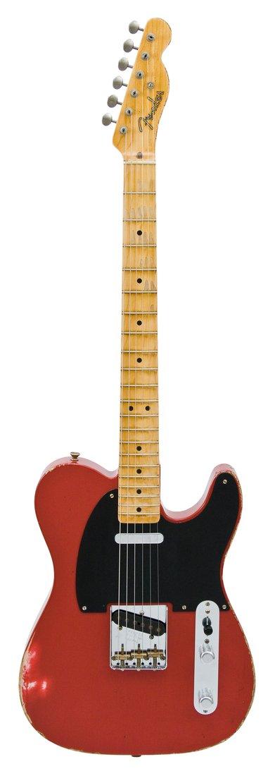 fender electric guitar relic nocaster dakota 1951 red rainbow guitars. Black Bedroom Furniture Sets. Home Design Ideas