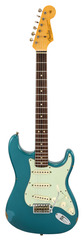Fender Custom Shop 2016 LTD NAMM 1964 Stratocaster Relic Faded Ocean Turquoise Metallic