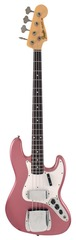 Fender Custom Shop 64 Jazz Bass Relic Burgandy Mist Metallic