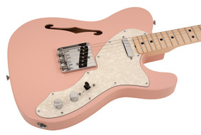 Custom Shop 1969 Telecaster Thinline Shell Pink