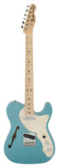 Pre-Owned Fender Custom Shop 1969 Telecaster Thinline Teal Green